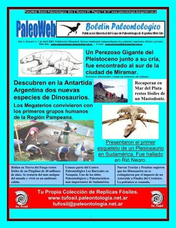 Descubren en la Antartida Argentina dos nuevas especies de ...