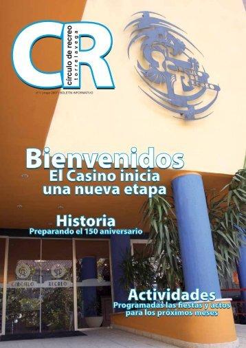 Revista número 1 - Circulo de Recreo de Torrelavega