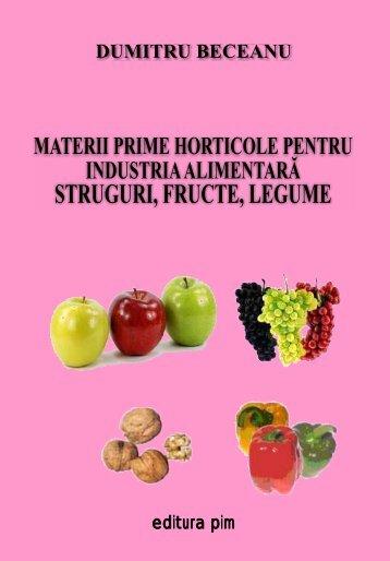 Materii prime horticole pentru industria alimentara - PIM Copy