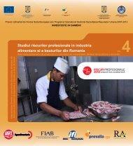 Studiul riscurilor profesionale in industria alimentara si a bauturilor ...