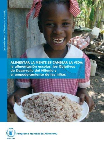 ALIMENTAR LA MENTE ES CAMBIAR LA VIDA: la alimentación ...
