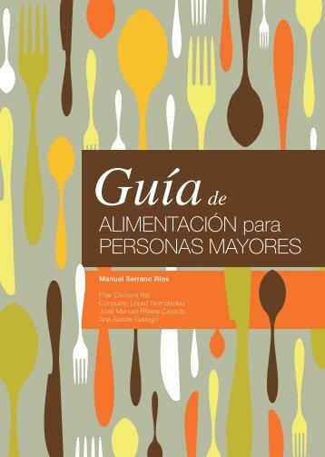 Guía de Alimentación para personas mayores - Instituto Danone