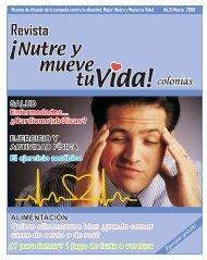 Revista Marzo 2008 - Nutre y Mueve Tu Vida