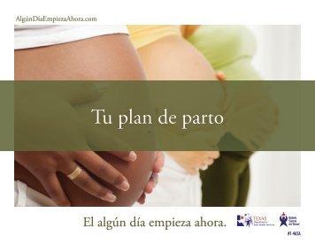 Healthy Texas Babies - Birth Plan - Spanish - El Algún Día Empieza ...