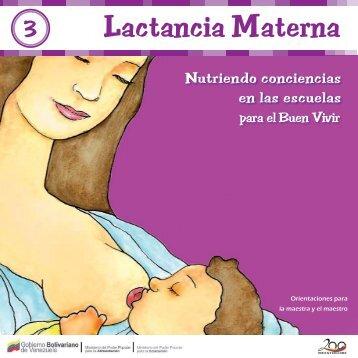 3. Lactancia Materna - Ministerio del Poder Popular para la Educación