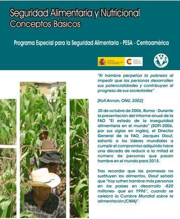 Seguridad Alimentaria y Nutricional - Ministerio de Educación ...