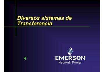 Diversos sistemas de Transferencia - Comisión Nacional para el ...