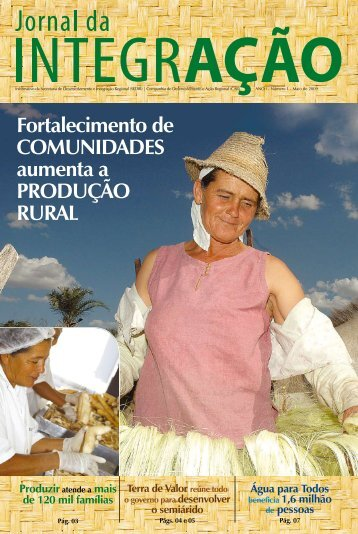 Fortalecimento de Comunidades aumenta a Produção rural