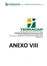 ANEXO VIII - Regimento do Comitê Executivo de TI - Minuta