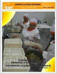 Alimentar a los trabajadores incrementa su productividad ... - RAE