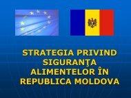 strategia privind siguranţa alimentelor în republica moldova
