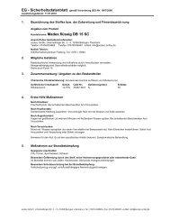 Handelsname: Madex.flüssig DB 15 SC - acotec