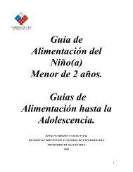 Guía de Alimentación del Niño(a) - Ministerio de Salud