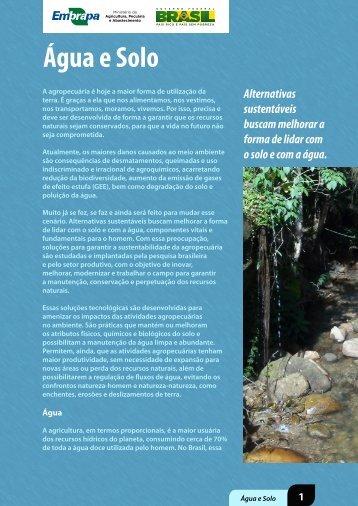 Água e Solo - Agro Sustentável