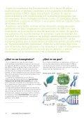 ¿Qué sabes de los transgénicos? - Greenpeace - Page 2