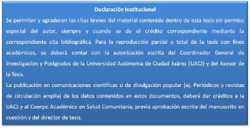 Lactancia exclusiva y evolución del peso y talla - Universidad ...