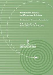 Naturaleza, ecología y salud - Conselleria d'Educació, Cultura i ...