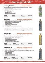 Neue Produkte - acotec
