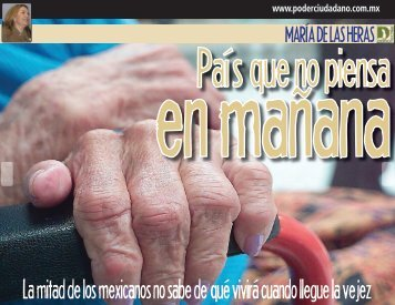 La mitad de los mexicanos no sabe de qué vivirá ... - Encuentro 29