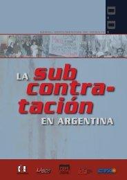 La subcontratación en Argentina - CEFS