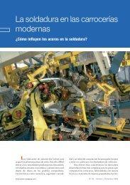 La soldadura en las carrocerías modernas - Centro Zaragoza