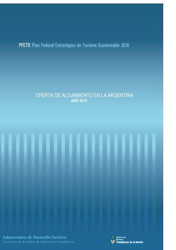 oferta de alojamiento en la argentina - SIET, Sistema de Información ...