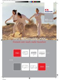 Adria Reisemobile 2006 - Reisemobil International