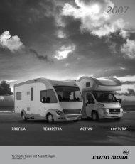 PROFILA TERRESTRA ACTIVA CONTURA - Reisemobil International