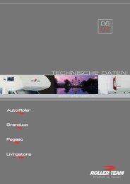 TECHNISCHE DATEN - Reisemobil International