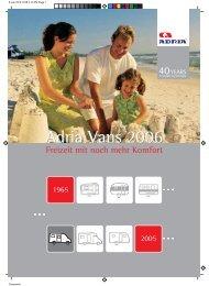 Adria Vans 2006 - Reisemobil International