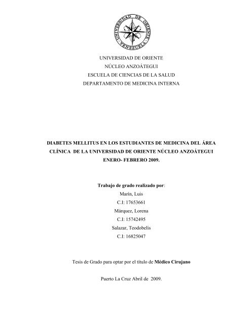 presentacion de tesis en diapositivas diabetes