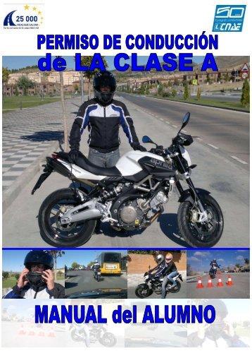 Manual del alumno A - Motocicletas y Seguridad Vial