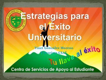 Estrategias para el Éxito Universitario