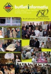 Butlleti 150 ja disponible! - associacio provincial de laringectomitzats