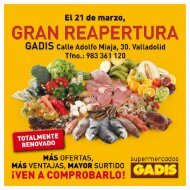GRAN REAPERTU RA - Gadisa