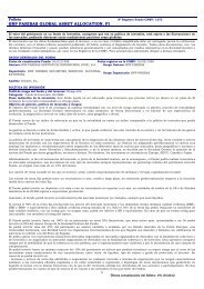 Folleto Informativo - BNP Paribas Wealth Management