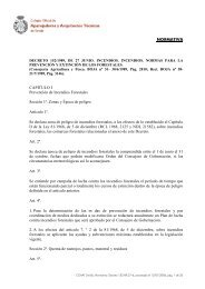 NORMATIVA CAPITULO I Prevención de Incendios ... - COAAT Sevilla