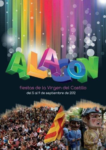 programa oficial septiembre 2012.pdf - Fiestas de Alagón