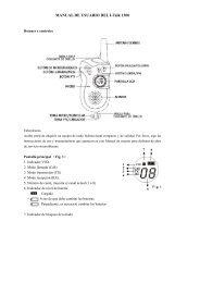 MANUAL DE USUARIO DEL I-Talk 1300 - Telcom