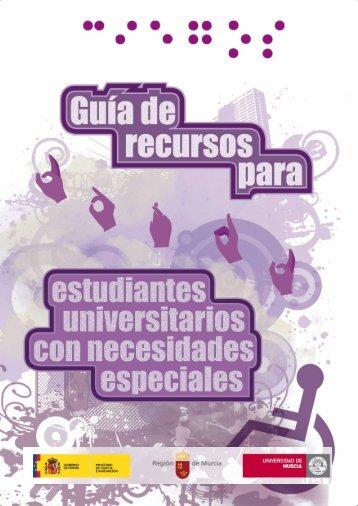 guía de recursos para estudiantes universitarios con necesidades ...