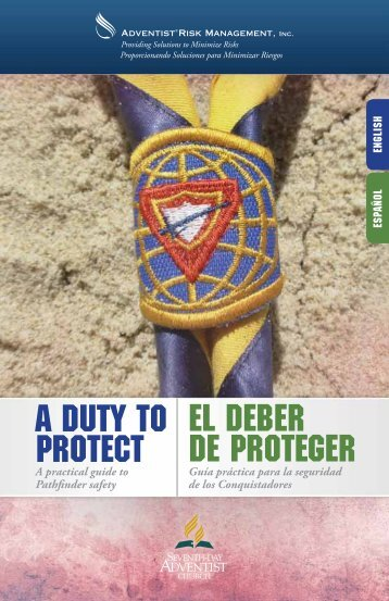 A Duty To Protect - Adventist Risk Management, Inc