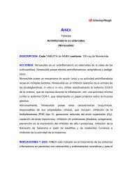Tabletas Antiinflamatorio no esteroideo (Nimesulide ... - Medcenter
