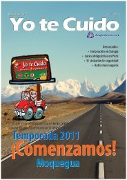 Temporada 2011 Moquegua - Yo te cuido Perú