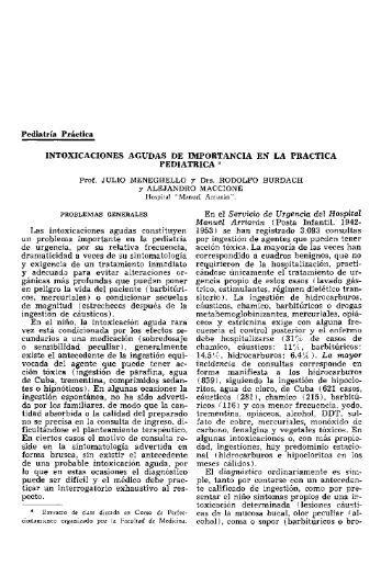 Pediatria Practica INTOXICACIONES AGUDAS DE ... - SciELO
