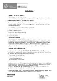 FICHA TÉCNICA 1. NOMBRE DEL MEDICAMENTO BROMURO DE ...