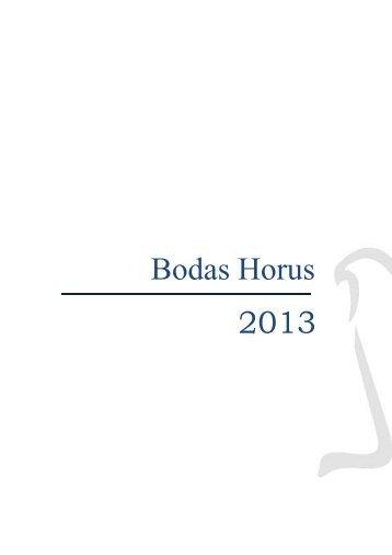 Menús de Bodas - Hotel Horus Salamanca