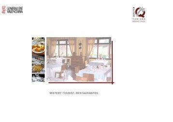 Análisis de calidad en Restaurantes - Agencia Valenciana de Turismo
