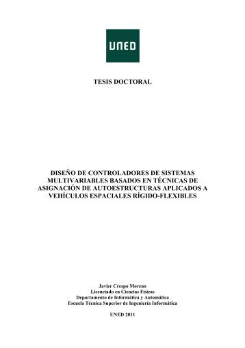 TESIS DOCTORAL DISEÑO DE ... - e-Spacio - UNED