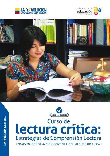 Lectura crítica 1 - Ministerio de Educación
