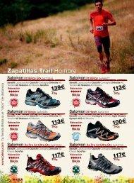 Zapatillas Trail Hombre - Sportlife.es
